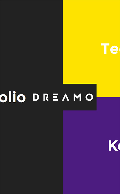 Dreamo agency landing page